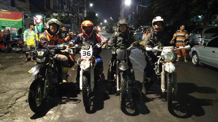 Jak Trail, Ngobrolmotorcross dan Serigala Cross siap mengantar Amanah