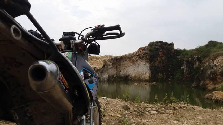 KLX S 2015 tampang belakang