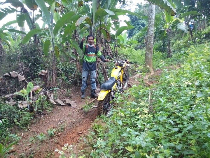 Mang Adul, Senior dan Mekanik KOTAK .. Thank Mang, udah beresin motor saya.. hahaha