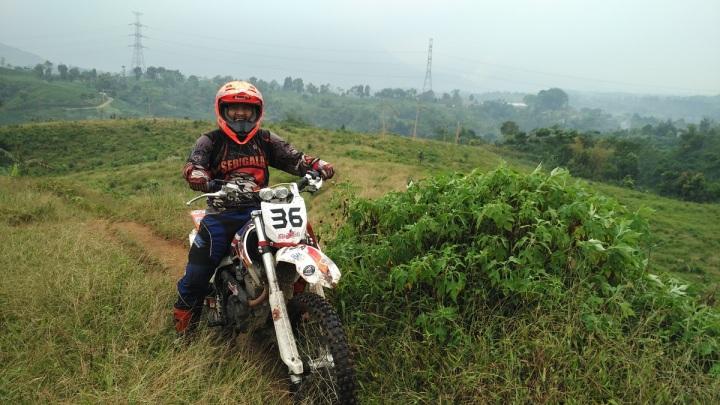 ngobrolmotorcross narsis dijalur Cianten Indah