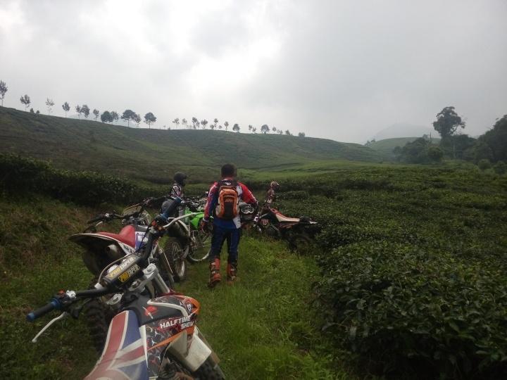 Jalur Kebun Teh Sebelum masuk jalur Gunung Kencana