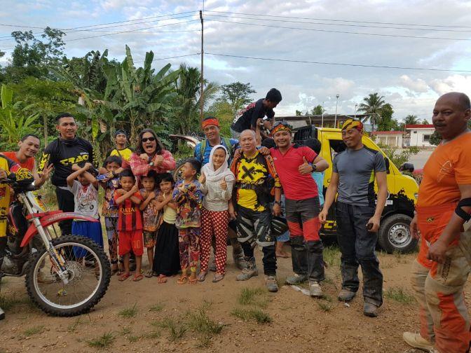 TRACK 10 DAYS ADVENTURE 2016 JAKARTA-BUKIT TINGGI: Para Petualang Sejati