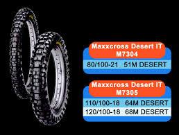 Ban Motor Cross Maxxis untuk Motor Trail mu Makin Keren