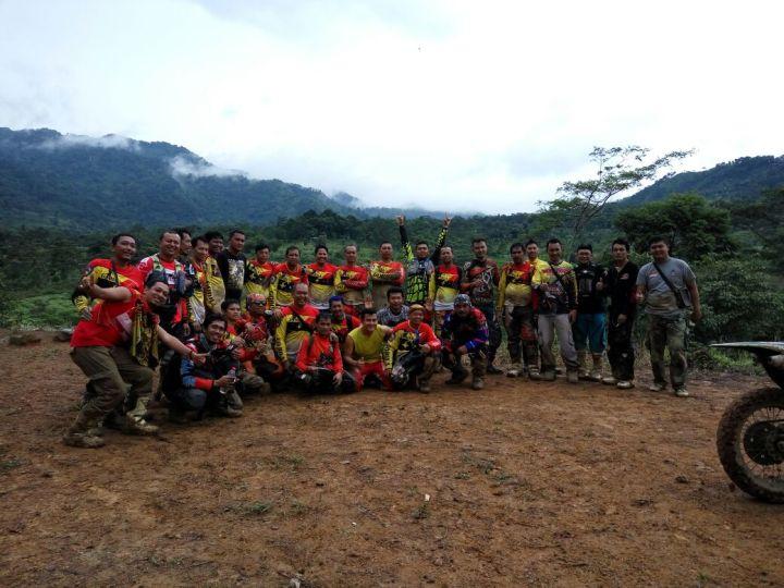 Kekompakan Gorila saat menikmati jalur alam Indonesia
