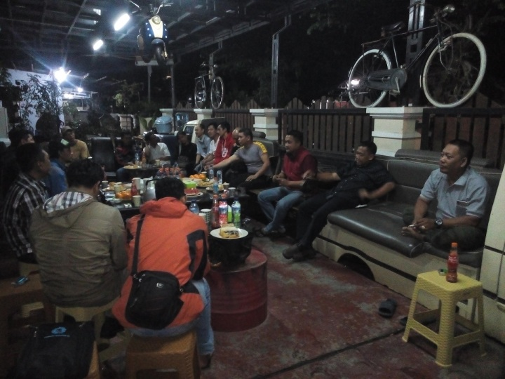 Rapat dan penyusunan pengurus baru Gorila 2017 di sekretariat Gorila