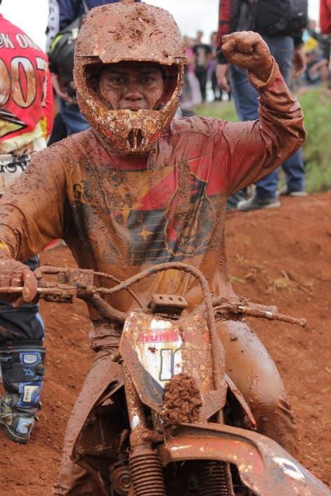 Romodoso juara 1 untuk Gorila Member Enduro. Termasyur
