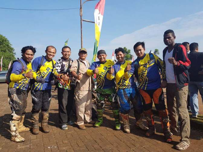Serunya Mengawal di Event HUT Kodam III Siliwangi Trail Adventure