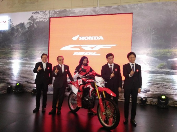 Honda Akhirnya Launching Motor Garuk Tanah CRF150L