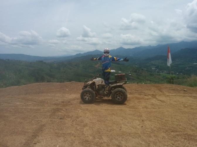 Serunya Main ATV di Jalur Hambalang Puncak 2 Bogor